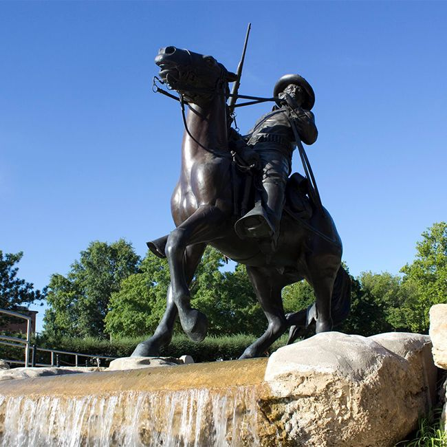 buffalo soldier statue for sale