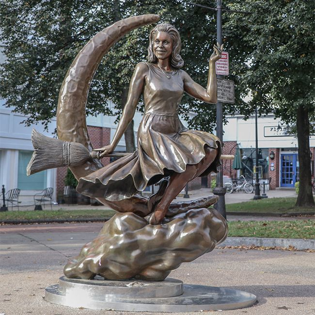 bewitched statue in salem ma