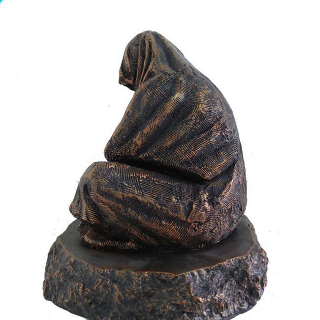 wizard garden statue