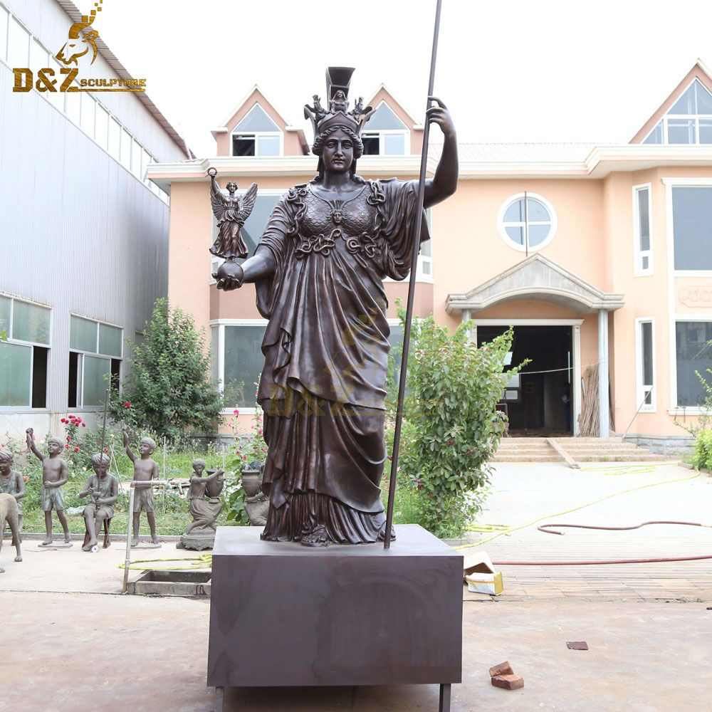 Giant athena greek goddess statue for sale