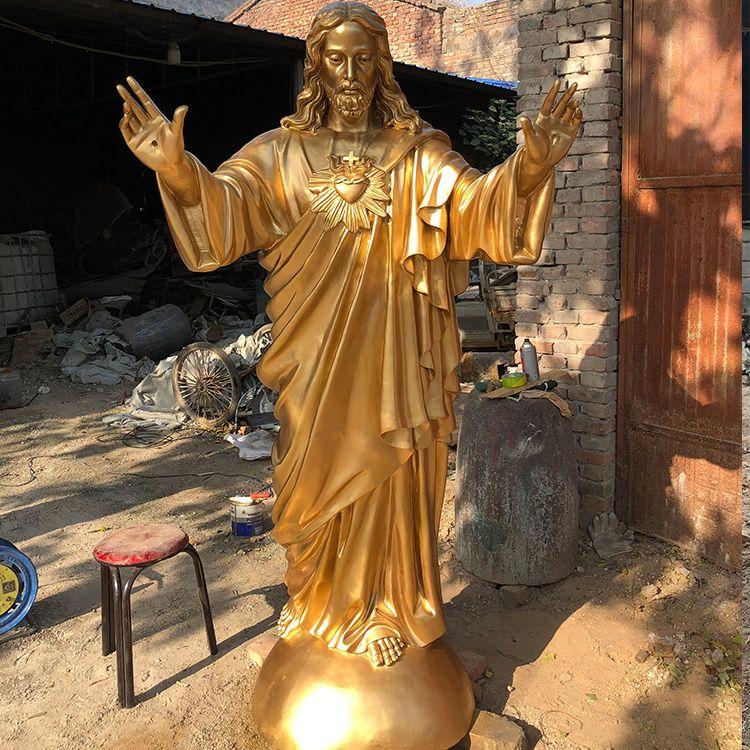big jesus christ garden statue