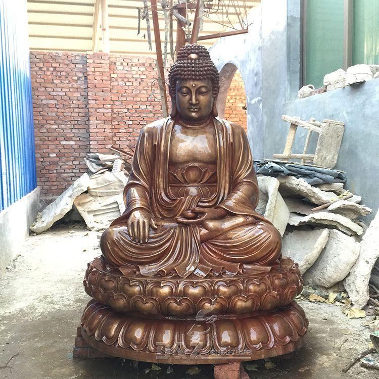 bronze big Chinese buddha statue for sale