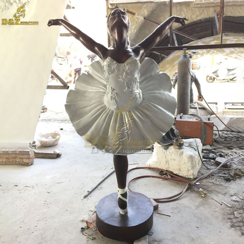bronze ballerina dancer sculpture