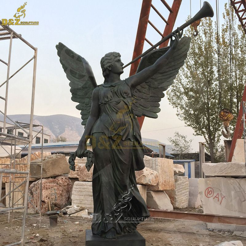 archangel st gabriel garden statue for sale