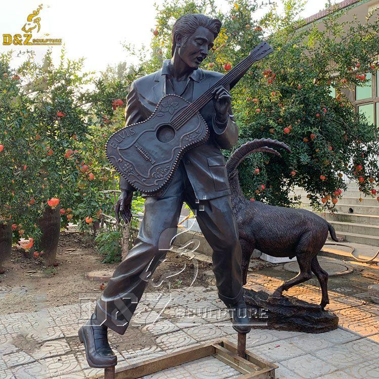 life size elvis statue