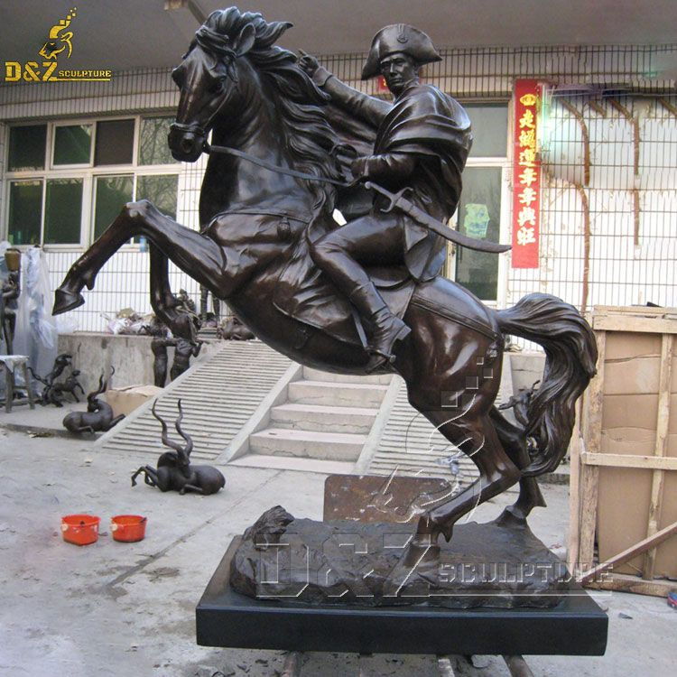 Napoleon on horse statue for sale