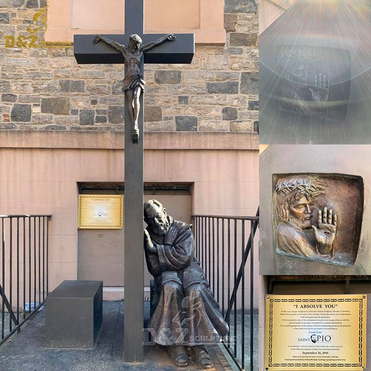I absolve you statue st padre pio