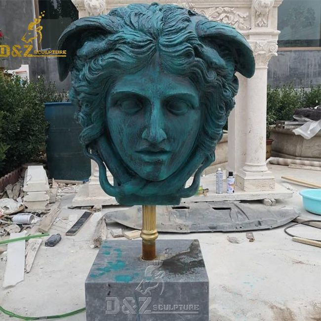 medusa head bust statue for sale