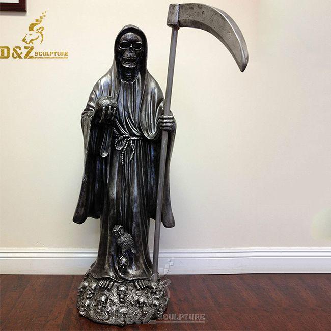 large blessed santa muerte statue for sale