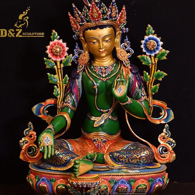 green tara statue for sale