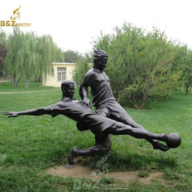 life size football player statue for sale