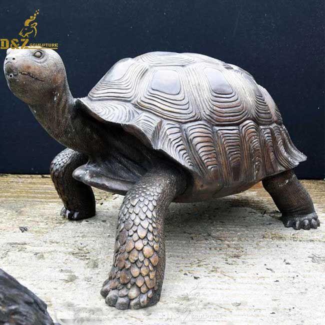 large outdoor garden sea turtle statues