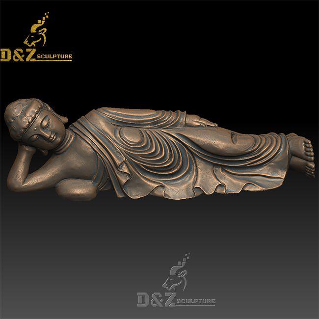 sleeping buddha lying down statue