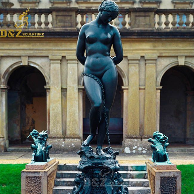 andromeda chained to the rocks statue
