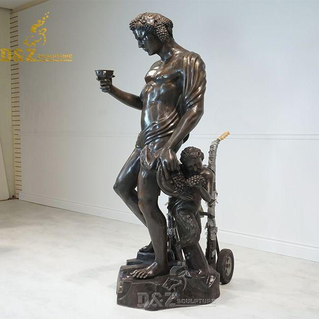 bacchus statue michelangelo replica
