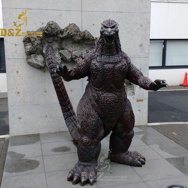 life size japan godzilla statue