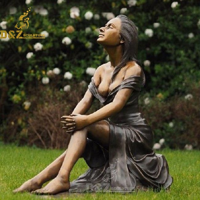 Lady Statue for Garden