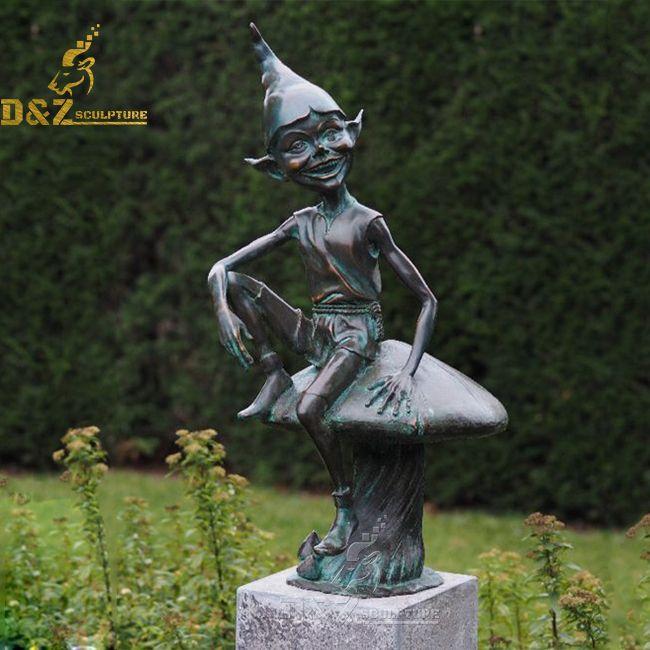 elf garden statue