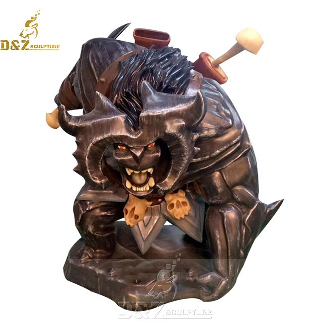 Large garden troll statue for sale