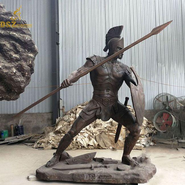 roman gladiator statue for sale