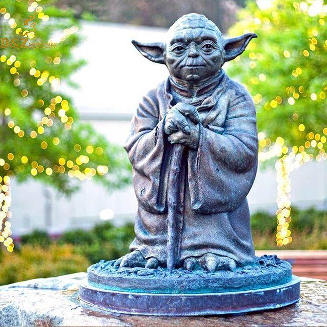 yoda garden statue life size