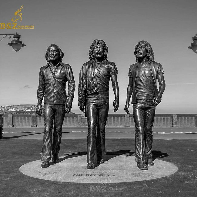 The bee gees statue isle of man