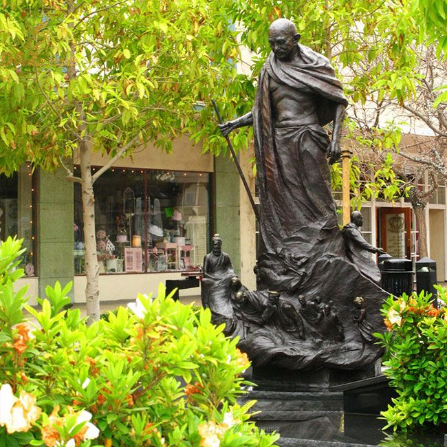 Mahatma Gandhi bronze statue for sale