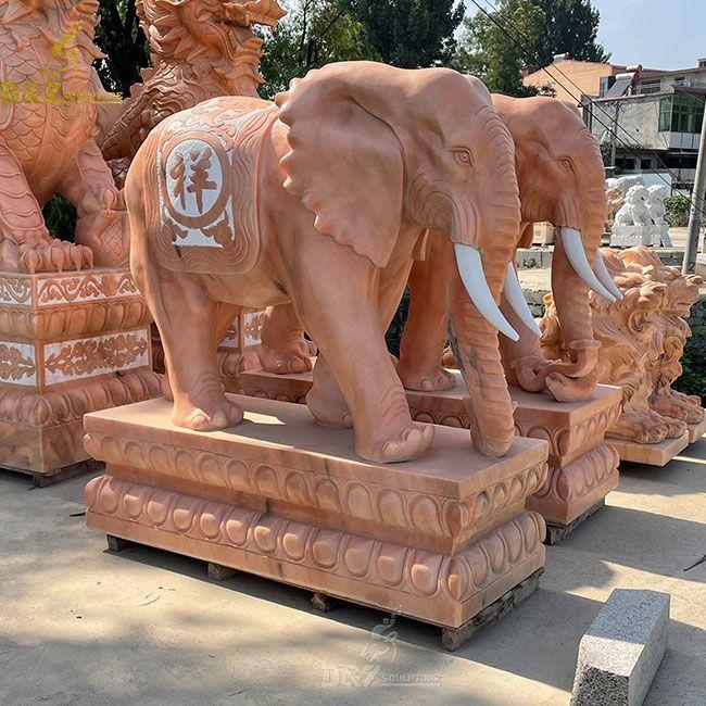 life size stone good luck elephant statue