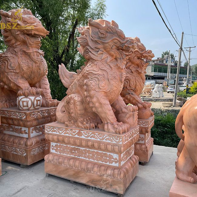 Chinese qilin kirin outdoor statues for sale