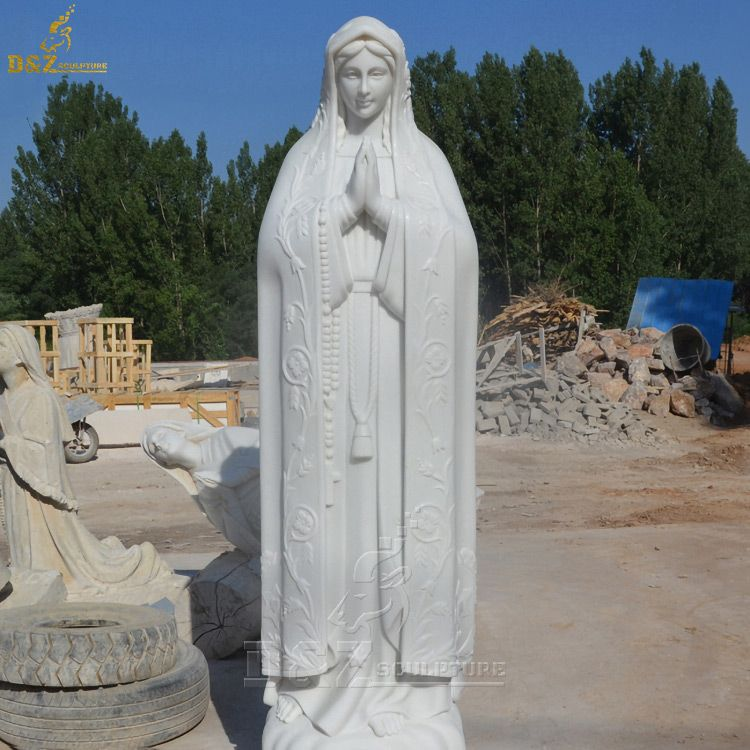 Most beautiful Our Lady of Fatima outdoor statue for sale