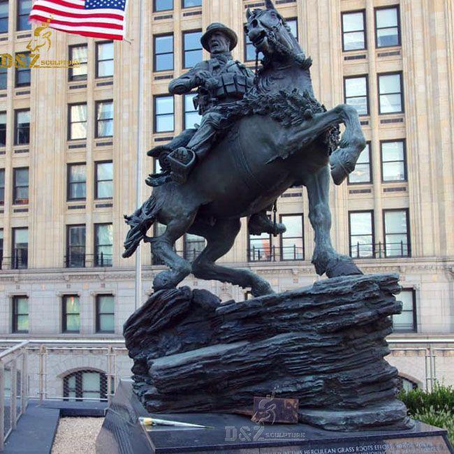 World trade center horse soldier statue replica for sale