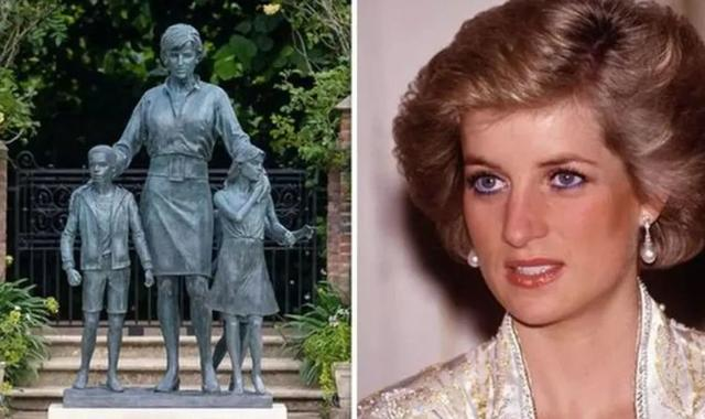 The statue of Diana draws dissatisfaction from netizens