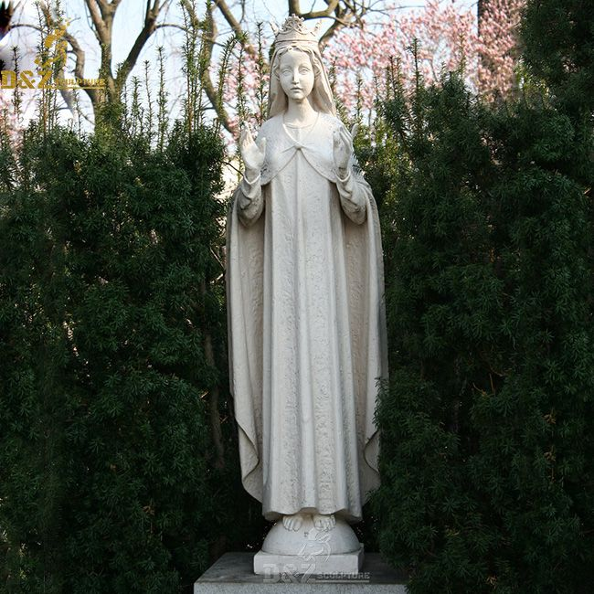 Life size our lady of knock outdoor statue for sale