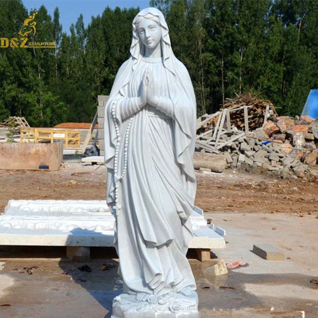 Our lady of Lourdes outdoor garden statues for sale