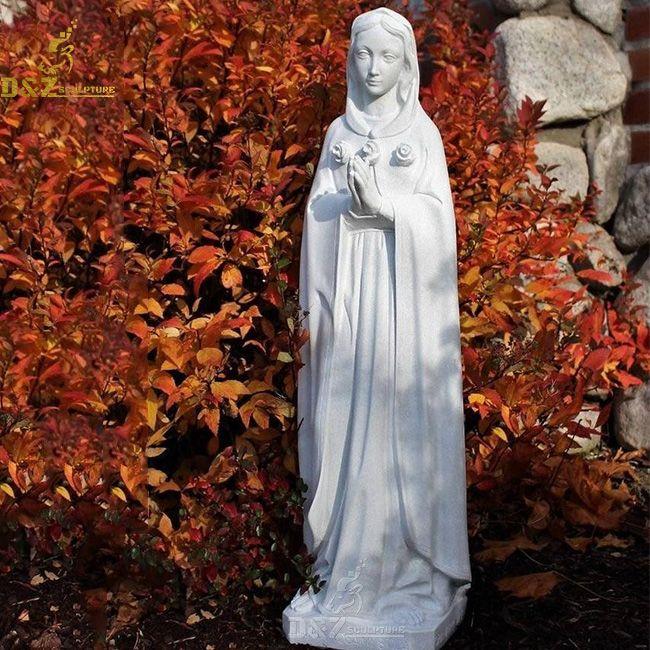 Marble Rosa Mystica statue for sale