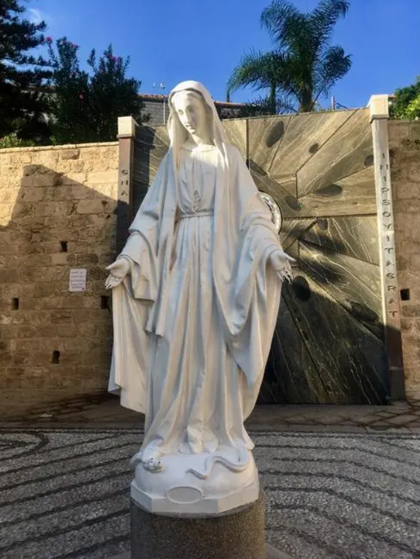 what does the virgin mary represent?