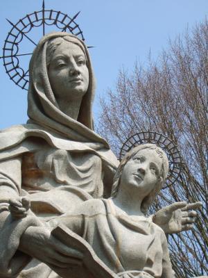 why is saint anne a saint?
