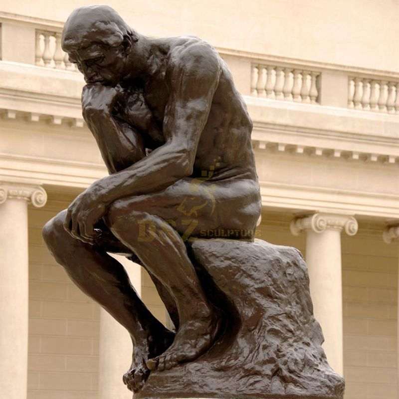 Thinker Auguste Rodin Museum Paris 1904
