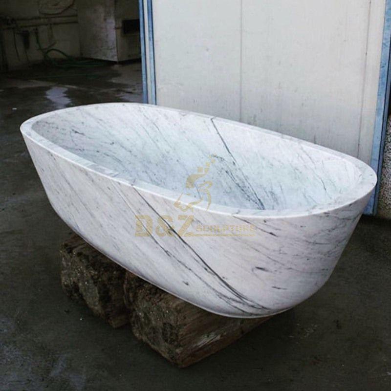 Bathroom Luxury Marble Bathtub
