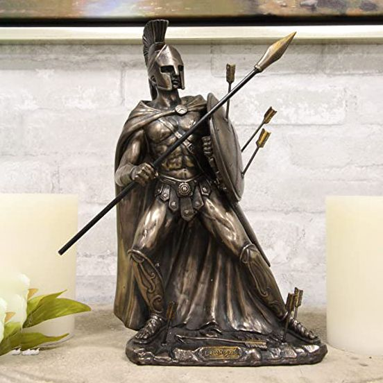 Nice Quality Good Price Resin Sparta Warrior Statue Hot Sale
