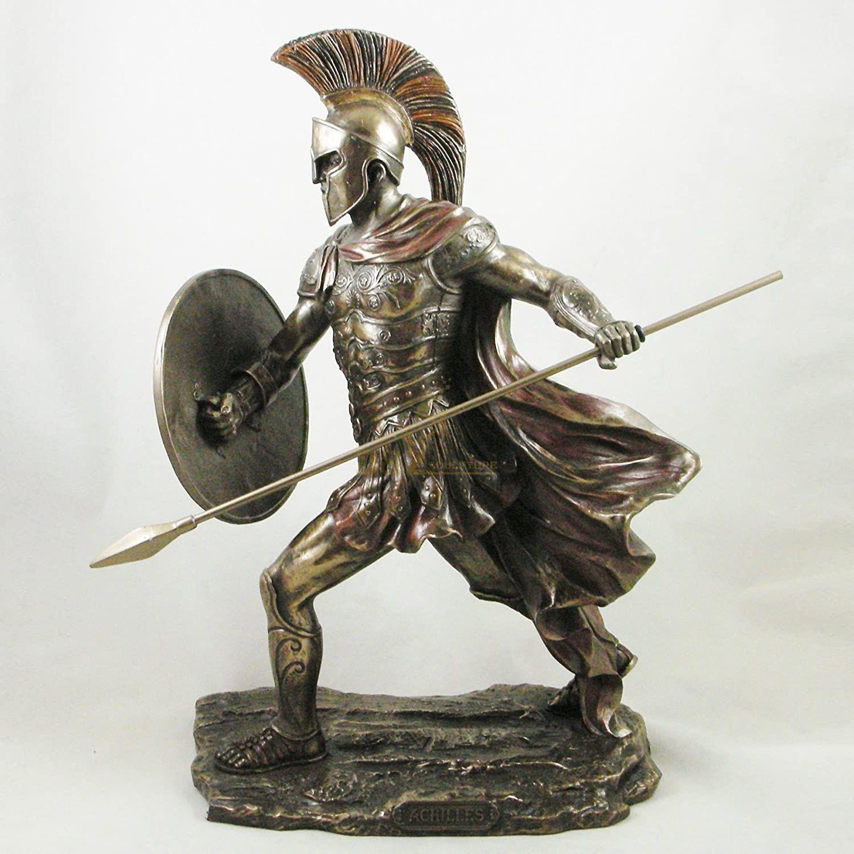 Life size casting Bronze Roman Warrior Statue