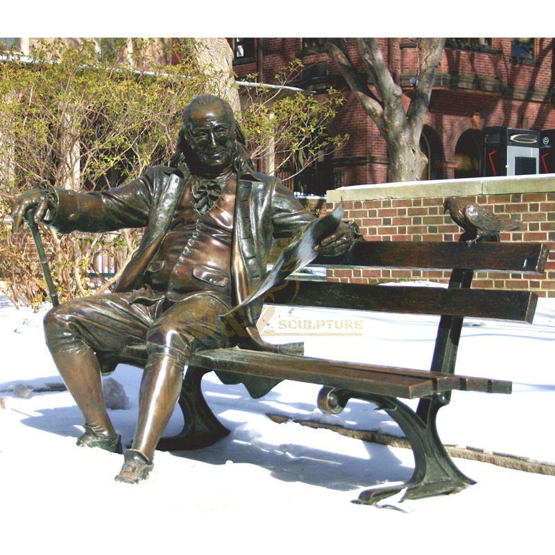 Famous president statue cast bronze figure sculpture
