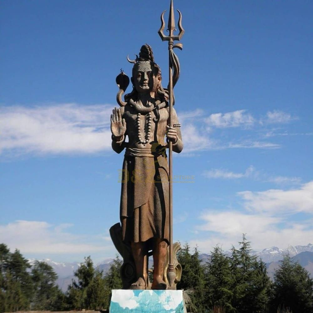 large outdoor shiva bronze statues sculpture
