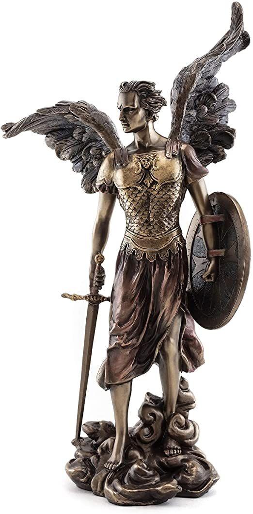 Religious bronze crafts statue st michael figure