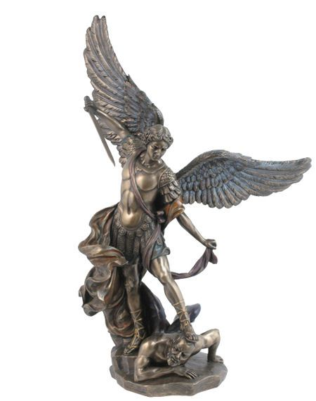 Wholesale custom high quality st michael the archangel statue for sale
