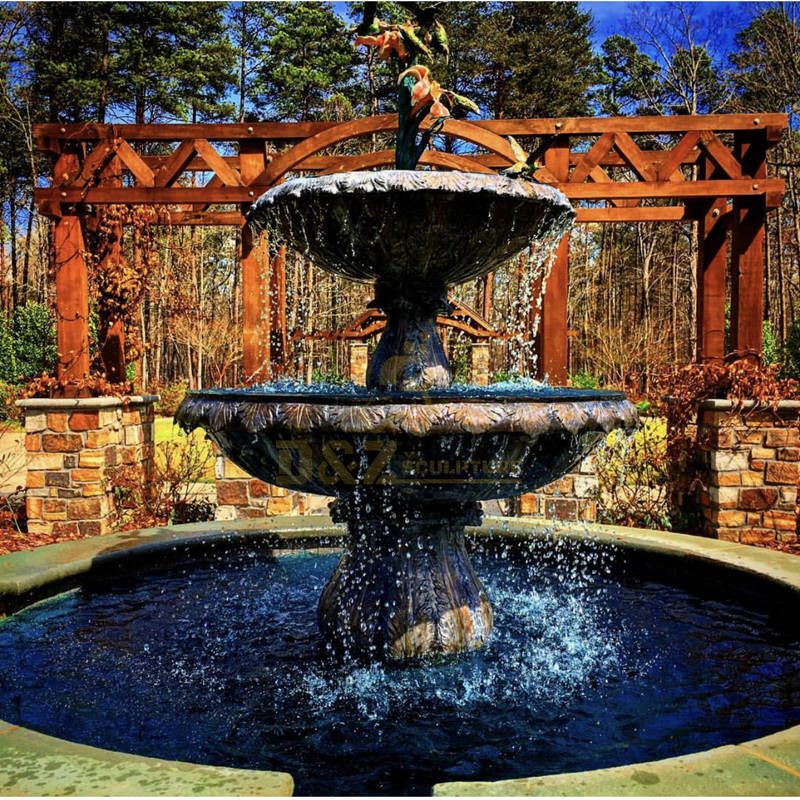 Garden Nice Cast Statue Carving Bronze Water Fountain