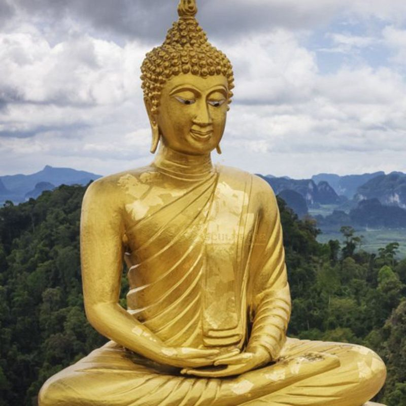 Meditative Buddha of the Grand Temple Garden Statue