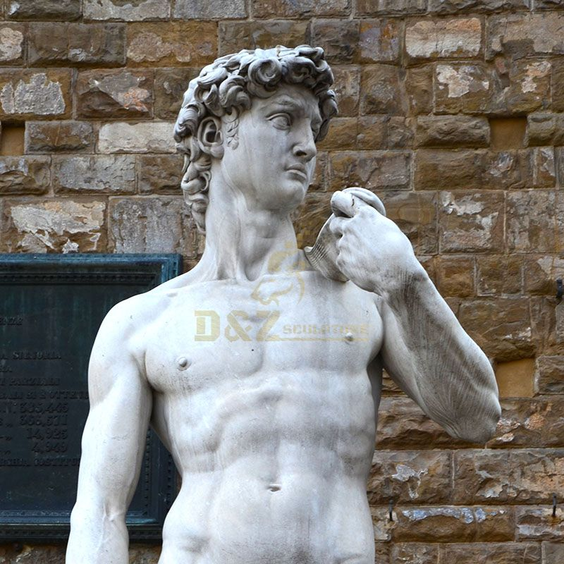 Replicas Of the Famous Outdoor Michelangelo Marble Statue Of David For Sale