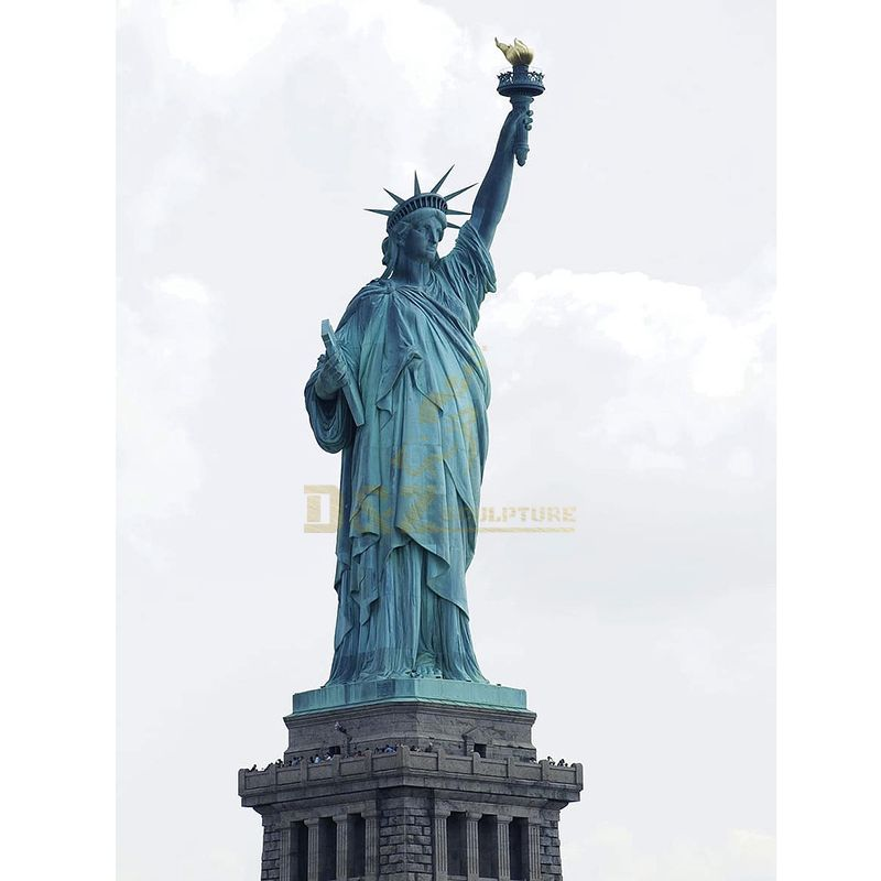 statue of liberty height
