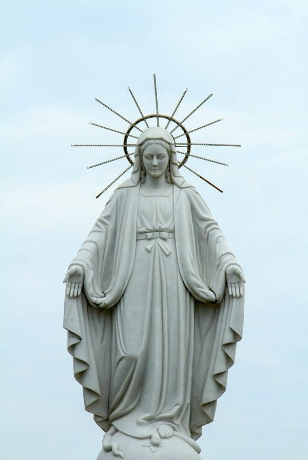Mary statue outdoor